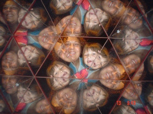 a kaleidoscope mutual picture